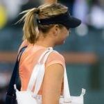 Sharapova'dan erken veda!