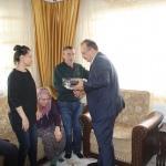 Vali Canbolat'ın şehit ailelerini ziyaretleri
