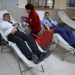 Edirne Adliyesi çalışanlarından kan bağışı