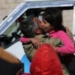 Afrin'de ağlatan buluşma! İşte köye giriş anı...