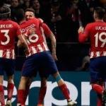 Atletico Madrid işi ilk maçta bitirdi!