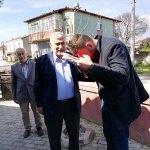 Pamukova Belediye Başkanı Keser'den Afrin gazisine ziyaret