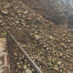 Heyelan 34 köyün yolunu kapattı