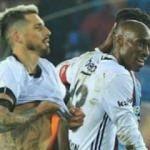 Trabzon'da o anlar! Sosa maç bitiminde...