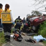 Manisa'da otomobil sulama kanalına düştü: 3 ölü, 1 yaralı