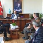 Babaeski Kaymakamı Özarslan'a ziyaret