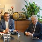 İZTO Başkanı Demirtaş'tan AK Parti'ye ziyaret