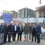 Milletvekili Tunç'tan TOKİ inşaatında inceleme