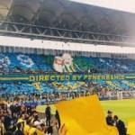Fenerbahçe'den koreografi şov! Aslan'a gönderme