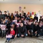 BEÜ'den köy okullarına giyim ve kırtasiye yardımı