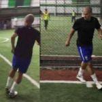 Alex de Souza halı saha maçında!