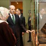 Kurtulmuş Türkiye'den kaçırılan hazineleri gördü