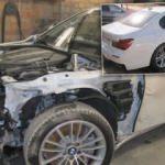 BMW kaporta düzeltme videosu sosyal medyayı sarstı