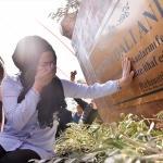 """Mersin'de """"Zeytin Dalı Anıtı"""" açıldı"""