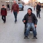 Engelli gence akülü araç sürprizi