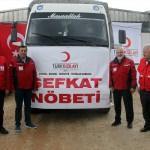 Türk Kızılayı'ndan Afrinli sivillere yardım