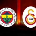 Fenerbahçe Galatasaray maçı ne zaman, saat kaçta, hangi kanalda? Puan durumu ne?