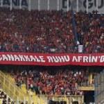 G.Saray taraftarından Kadıköy'de anlamlı pankart