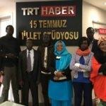Güney Sudan medya personeline Türkiye'den eğitim