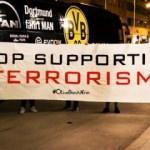 Skandal YPG pankartına tokat gibi cevap!