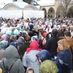 Lüleburgaz'da umre kafilesi dualarla uğurlandı