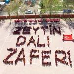 Öğrencilerden Mehmetçik'e koreografili teşekkür