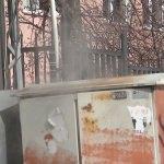 Kağızman'da elektrik trafosu patladı