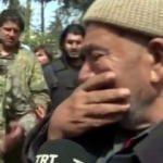 Afrinli Kürt Amca gözyaşlarıyla isyan etti