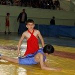 Oltu'da güreş turnuvası düzenlendi
