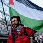 Geçtiği ülkelerde Filistin'i anlatıyor