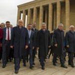 MHP heyeti Anıtkabir'i ziyaret etti