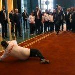 Erdoğan Down Sendromlu sporcularla buluştu!