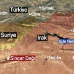 Türkiye'nin yeni hedefi Sincar nerede? Sincar'ın harita üzerindeki konumu!
