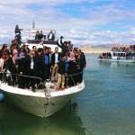 """İranlılar """"Van Denizi""""nde eğlendi"""