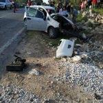 Muğla'da otomobille kamyon çarpıştı: 2 ölü, 1 yaralı