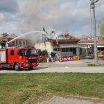 Erzincan'da fırında yangın: 1 yaralı