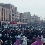 İranlı Araplar'dan devlet televizyonuna protesto