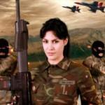 Tuğba Ekinci'den Mehmetçik'e özel Afrin şarkısı