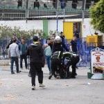Bodrum'da futbol maçı sırasında stat dışında kavga