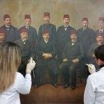 Edirne Belediyesi'ndeki tarihi tablolar restore ediliyor