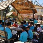 Arguvan'da kitap okuma etkinliği