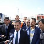 Ankara'daki metro kazasının ardından kurban kesildi