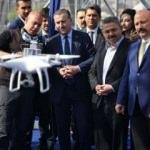 Bakan Bak drone uçurdu