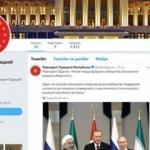 Cumhurbaşkanlığı Rusça hesabı yayına başladı