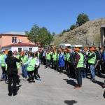 Elazığ'da taşeron işçilerin kadro sevinci