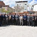 Şerifpaşa Camisi Meydanı törenle açıldı