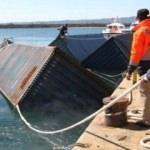 Denizde bulunan konteynerlerde tonlarca sigara!