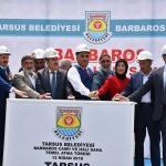 Tarsus Belediyesi yeni hizmetlerin temelini attı
