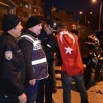 Motosiklet tutkunlarından polise ziyaret