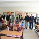 Afyonkarahisar'da ilkokula diş fırçalama merkezi açıldı